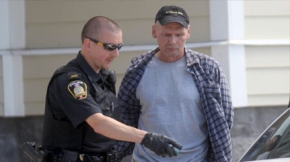 (Shawn Lamb is arrested by Winnipeg police/Chris Procaylo/Winnipeg Sun/QMI)