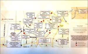RCMP Map of Cell Towers relating to Davis investigation